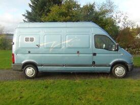 Vauxhall Movana 3.5T Horsebox