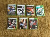 Xbox 360 games bundle. £6