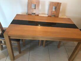 Teak Dining room Table (140cm) x (80cm)