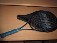 PRINCE JR PRO COMP GRAPHITE OVERSIZED WIDE BODY TENNIS RACKET EX COND NEW GRIP