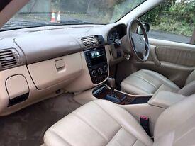 GORGEOUS 2003 MERCEDES ML 350 ML350 AUTO 4X4, Black/Cream leather 130k Sept 2017 mot STUNNING CAR !!