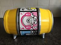 Mini can CD storage