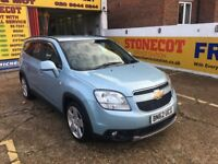 2012 CHEVROLET ORLANDO 2.0 DIESEL AUTO 7 SEATER FULL BLACK LEATHERS 1 OWNER