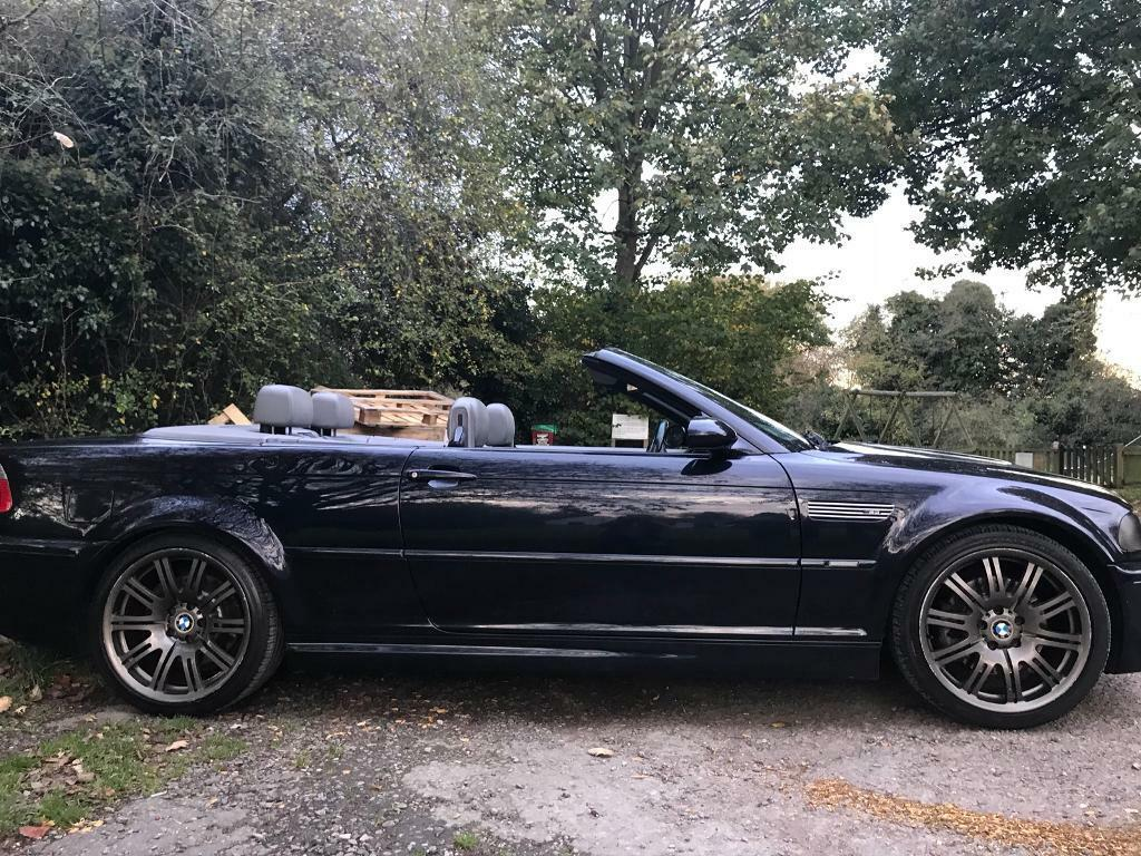 Sport Series 2006 bmw m3 2006 E46 BMW M3 CONVERTIBLE MANUAL CARBON BLACK | in Amersham ...