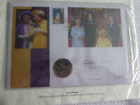 Queen Elizabeth, The Queen Mother's 101st Birthday First Day Cover.