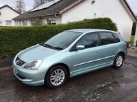 Honda Civic 2005 1.4 Petrol 10 months MOT Excellent Condition Full Service History