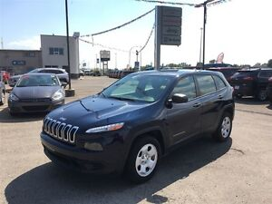 2014 Jeep Cherokee Sport   Jeep   Blue Tooth   One Owner