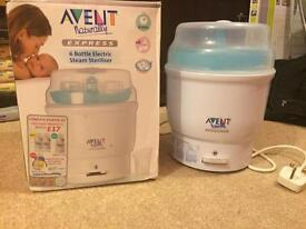 Avent baby bottle steriliser