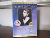 FUNNY GIRL / FUNNY LADY Barbra Streisand (Widescreen) - 2 Disc Box Set DVD (Brand New)