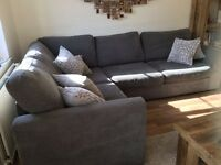DFS Corner sofa in excellent condition