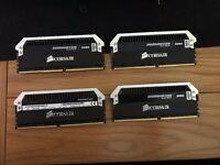 16GB Corsair Dominator Platinum RAM DDR4