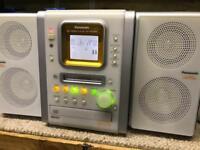 Panasonic mini disc stereo