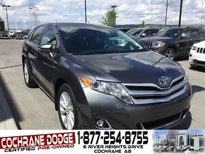 2015 Toyota Venza LE w/BACK-UP CAMERA! LOW KMS!