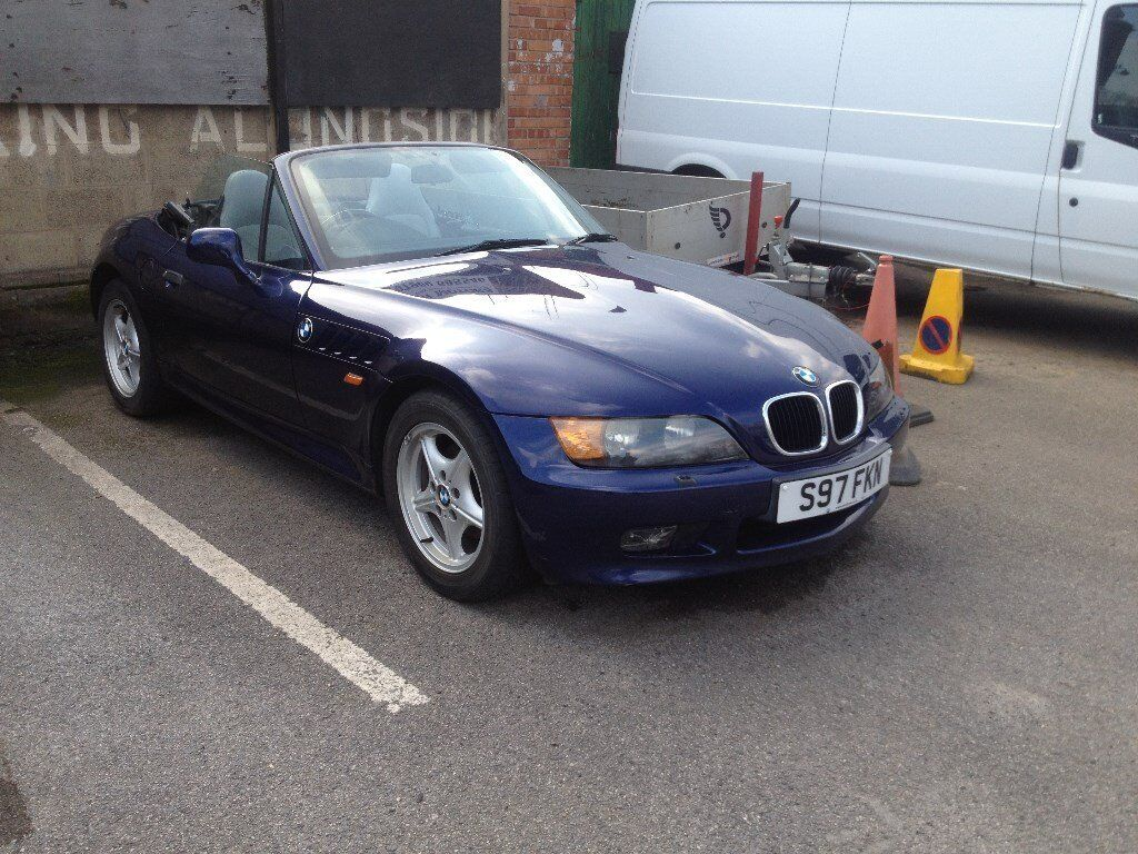 Bmw Z3 Roadster Convertible 2 Seater Soft Top Low Mileage