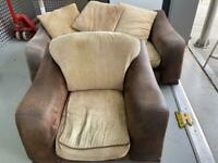 Matching 1-2 and 3 seater sofas