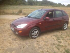 Ford Focus 2001 New Mot Automatic