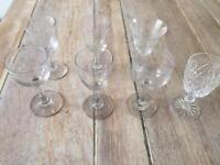 7 small shot glasses