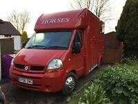 3.5 ton coachbuilt Horsebox