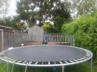 "Trampoline 14"", VGC, Free to Collect"
