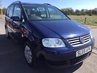 SALE! Bargain vw Volkswagen touran 7 seater diesel, long MOT ready to go