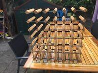 36-bottle wine rack