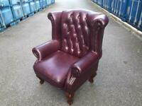 Chesterfield armchairs can deliver