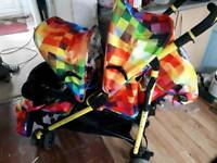 Cosatto Tandem double pushchair