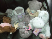 Soft toys job lot,cute large lot of soft toys, 10 cuties