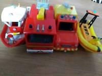 Fireman Sam bundle of toys and figures