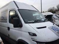 Iveco Daily bonnet breaking 05