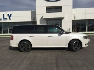 2014 Ford Flex Limited, AWD, Moonroof, Navigation, 64, 706 kms!! Windsor Region Ontario image 4
