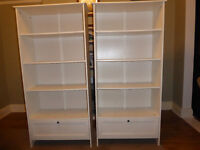 Tall bookcases (pair of)