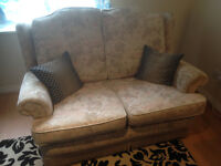 2 seater comfy sofa and 5 cushions