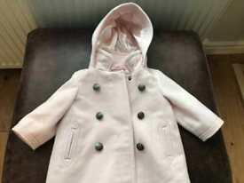 Next girls jacket age 3-6m