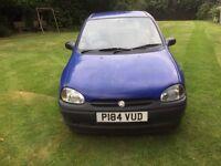 Vauxhall corsa merit auto, blue