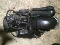 Piaggio zip 100 cc engine very fast 70+ open to offers just needs side casing kick part