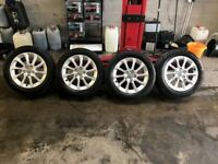 Genuine Audi Alloys 5x112 Fitment 205/55/16 Tyres