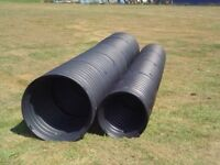 Wanted culvert pipe - concrete or twin wall or corrugated - any diameter but preferably 600mm