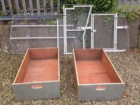 Complete Dog cages and storage compartments made to fit Berlingo Van.
