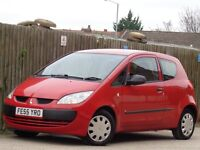 Mitsubishi Colt 1.1 Red 3dr 2006 **GENUINE LOW MILES!!! ONLY 40k**