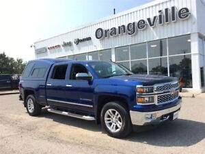 2014 Chevrolet Silverado 1500 LTZ, CREW, CAP, HTD LEATHER, P