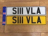 Personal Plate - S111 VLA
