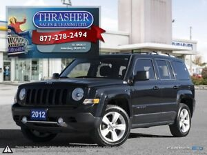 2012 Jeep Patriot Limited, Leather, Nav, Sunroof