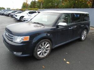 2010 Ford Flex LIMITED ECOBOOST AWD MAGS TOIT CUIR NAVI TV/DVD