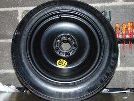 Ford Focus / C-Max / Pirelli Spare Tyre / Space Saver / 125 85 16 / Unused / Excellent Condition