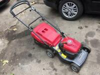 Mountfield self propelled petrol mower in good working order