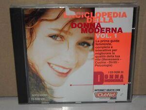 CD-ROM-Enciclopedia-della-Donna-Moderna-Volume-1-Benessere-Cucina-Psicologia