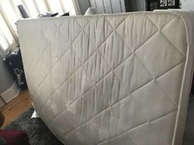 Double mattress- free for collection from SW11