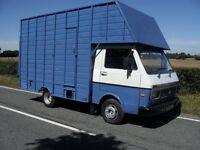 P REG VW LT35 2.4 DIESEL 3500KG GROSS HORSEBOX HORSE BOX FRONT & REAR RAMPS MOTED NEW CAMBELT