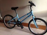 """KIDS BLUE BIKE 20"""" TERRAIN SIERRA - 6 SPEED - GREAT CONDITION"""